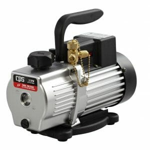 Pro-Set Premium Series Vacuum Pump 2 CFM Two-Stage, Dual Voltage