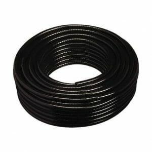 braided hose black