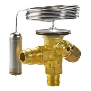 expansion valve r134a external flare flare danfoss