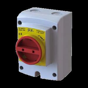 Isolator Rotary 4 Pole IP66 - 32 Amp BBJ