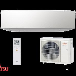 Evomart Fujitsu-Designer (White) 3.5kW R32 Set Indoor Outdoor