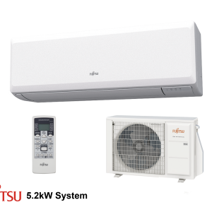 Evomart Fujitsu Economy Set 5.2kW (White) R32 Indoor Outdoor