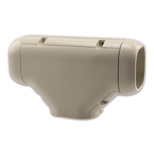 T-Joint Trunking Ivory/White NT