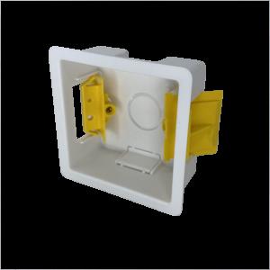 Back Box Plastic 1G 25mm