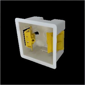 Back Box Plastic 1G 45mm