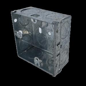 Back Box Metal 1G 35mm