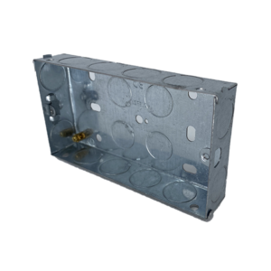 Back Box Metal 2G 25mm