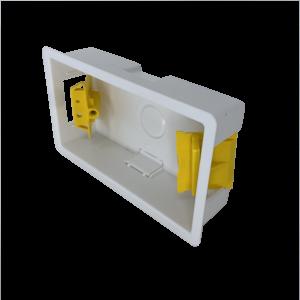 Back Box Plastic 2G 25mm