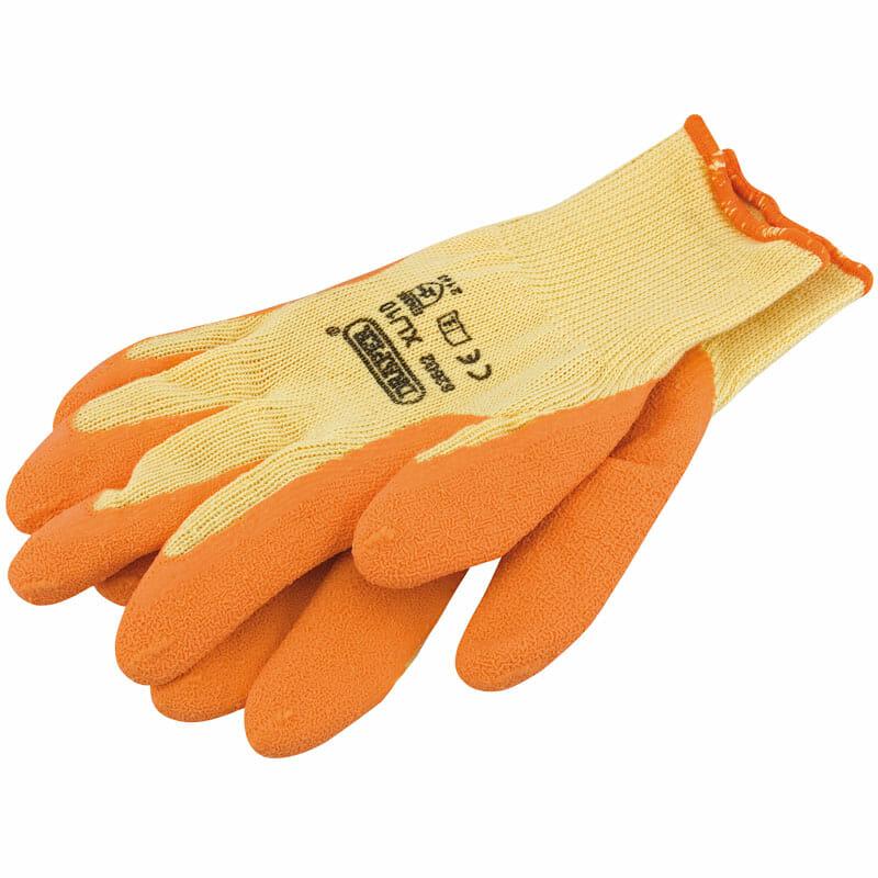 Gloves Heavy Duty Latex Covered
